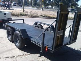 Trailers Balancin Carreton Para Bobcat Urgente Se Vende