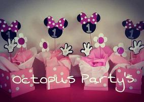 Centros De Mesa Minnie Mouse Infantiles Personalizados