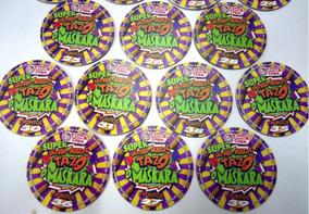 Lote C/30 Tazo Mascara Elma Chips