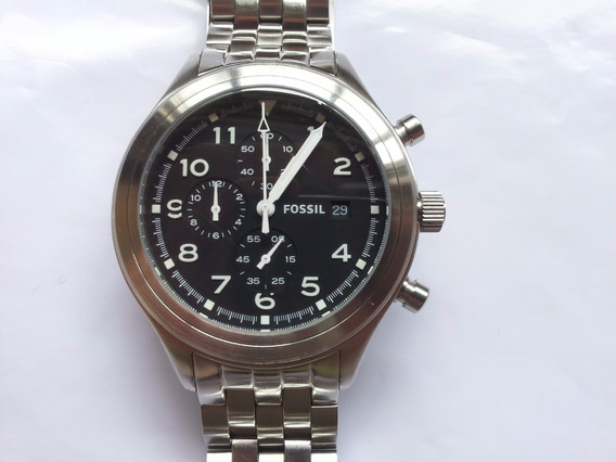 Relógio Fossil - Chronograph Stainless Jr1431