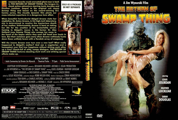 A Volta Do Monstro Do Pântano (the Return Of Swamp Thing)