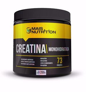Creatina Monohidratada 210g Mais Nutrition Frete Gratis