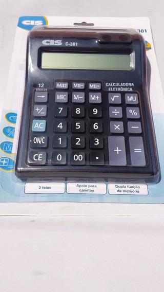 Calculadora De Mesa C-301 Cis