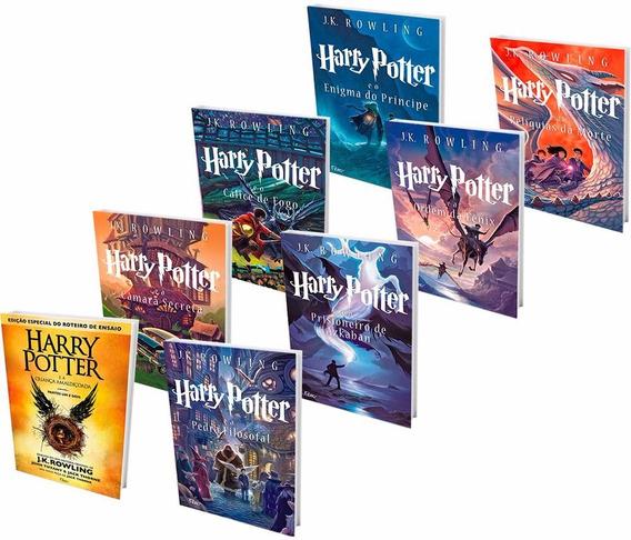 Kit Livros - Harry Potter Scholastic + Criança Amaldiçoada #