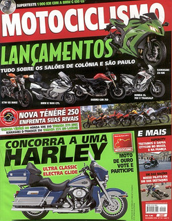 Motociclismo.155 Nov10- Ténéré Xtz250 Lander Xre300 Bmw650