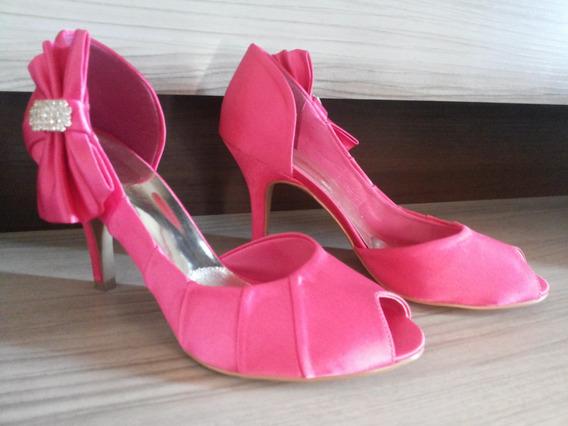 Sapatos De Casamento Com Salto Alto