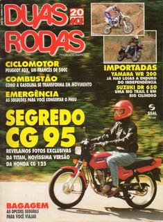 Duas Rodas N°228 Honda Cg 125 Titan Suzuki Dr 600re Wr 200r