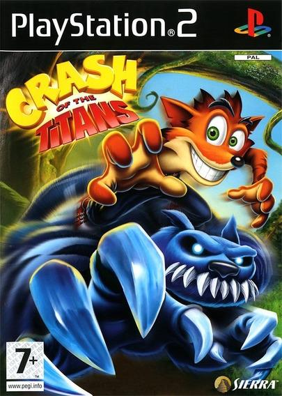 Crash Of The Titans Para Playstation 2 (kit 6 Games Ps2