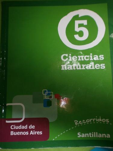Ciencias Naturales 5 Ciudad De Buenos Aires Santillana