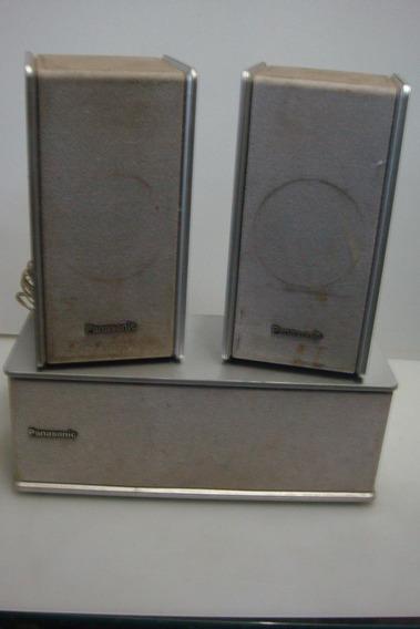 Caixa De Som Para Home Panasonic 2= Sb-fs803a 1= Sb-pc703