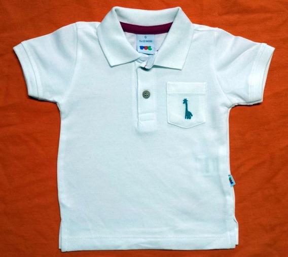 Camisa Polo Bebê Puc - Medidas Logo Abaixo - Cód. 2370/b