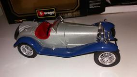 Alfa Romeo 2300 Spider 1932 Escala 1/18 Burago Miniatura