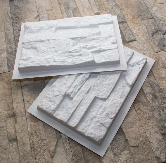 Molde Plastico Fachada Piedra Cultivada Cemento O Yeso