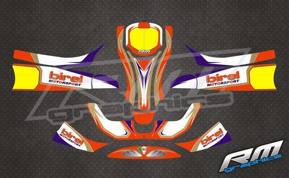 Plotter Karting Birel - Reflectivo - Rm Graphics