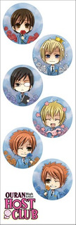 Plancha De Stickers De Anime De Ouran Host Club