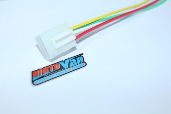Chicote Regulador Voltagem Titan 125 - Plug Conector