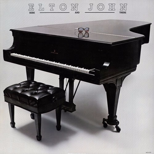 Cd Elton John - Here And There
