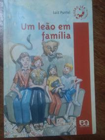 Livro Um Leão Em Família Luiz Puntel