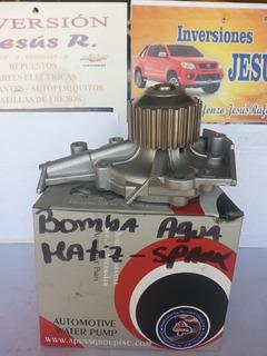 Bomba De Agua Chevrolet Spark Y Daewoo Matiz Marca Acdc.
