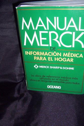 Manual  Merck Informacion Medica Total 18 Mil  Disponible