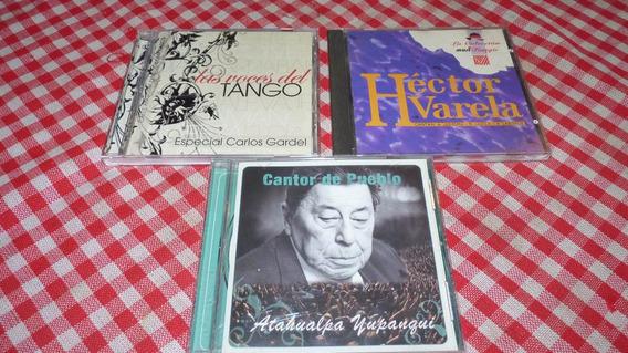 Lote De Cd Tango Y Folklore