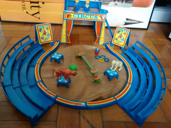 Playmobil Antigo Circo Década De 80