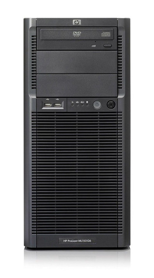 Hp Proliant Ml150 G6, Intel Xeon Quadcore, 16gb Ram, 2 Hds Sas 300gb, Porta De Rede Gigabit, Garantia De Hardware