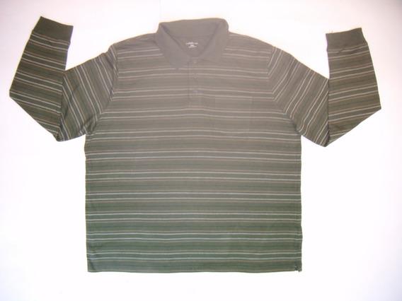 Imperdible Camisa Tipo Polo Croft&barrow 2xl Envío Gratis