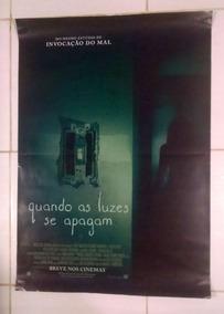 Quando As Luzes Se Apagam - Cartaz De Cinema Original