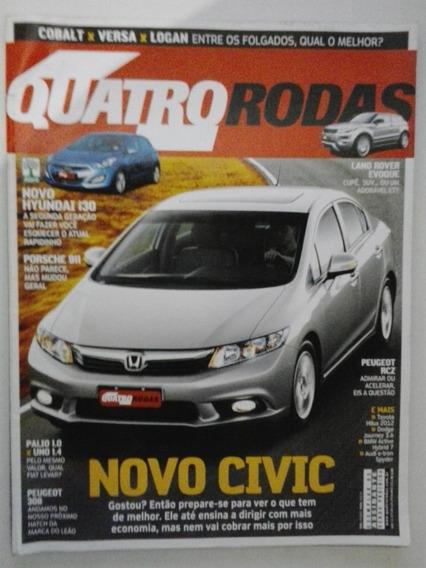 Revista Quatro Rodas N° 624 - Dezembro 2011 - Frete Grátis