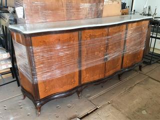 Mueble De Mármol Antiguo Blanco Nuevo Muy Cuidado Gta