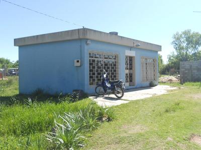 Ciudad Del Plata Casa Opcion Para Local. Excelente Punto !!