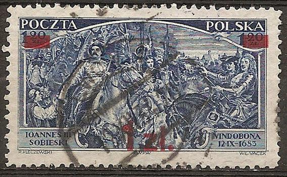 Polonia Año 1934 Yvert N°373 #catálogo Marca $ Oferta!