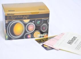Caixa Lente Nikon 35-70mm 2.8f