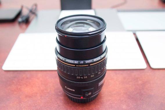 Lente Canon 28-105mm F3.5-4.5 Ultrasonic (leia Descrição)