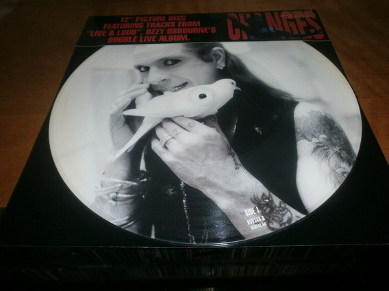 Ozzy Osbourne Changes 12 Picture Disc