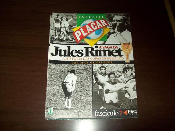 Revista Placar - Coleção Jules Rimet - Copa 1962