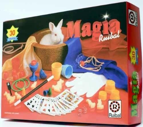 Juego De Magia 30 Trucos 6 Años Varita Magica Educando