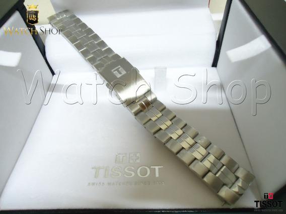 Pulseira De Aço Tissot Pr 100 T049407 19mm - Original