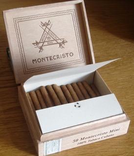 Habanos Montecristo Mini Caja Por 50 Unidades 100% Original