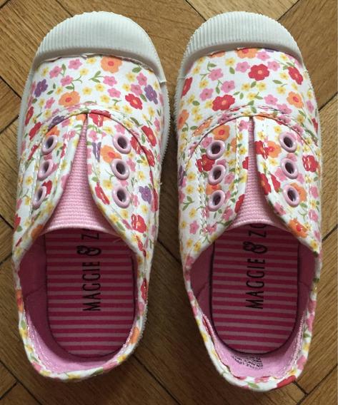Zapatillas Niña Flores T23