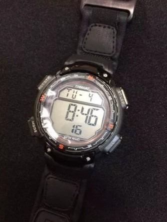 Relógio Tornado Sports 7290g Preto Pulseria Emborrachada