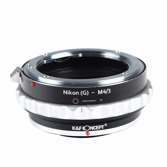 Adaptador Lentes Nikon G A Micro 4/3 Para Olympus Panasonic
