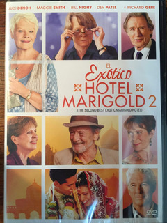 Dvd Exotico Hotel Marigold 2 / Best Exotic Hotel Marigold 2