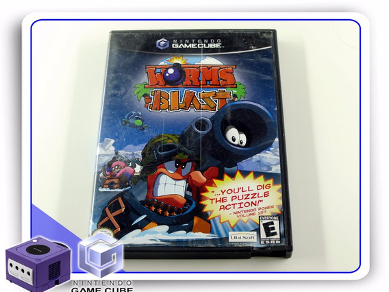 Gc Worms Blast Orignal Gamecube