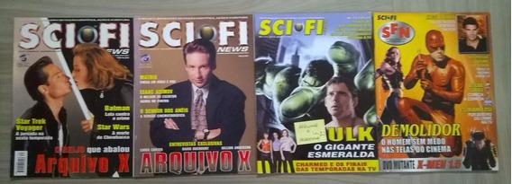 Pacote Sci-fi News Nº 7, 10, 27, 30
