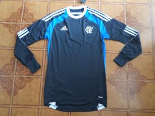 Camisa Goleiro Flamengo Treino Tamanho 4 = P