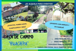 Casa De Campo Huachipa - Local Para Eventos Y Mas