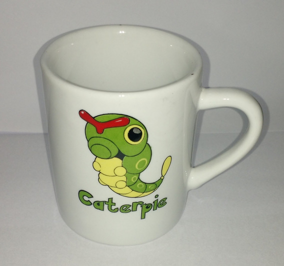 Caneca Pokemon Go 120ml Porcelana Caterpie