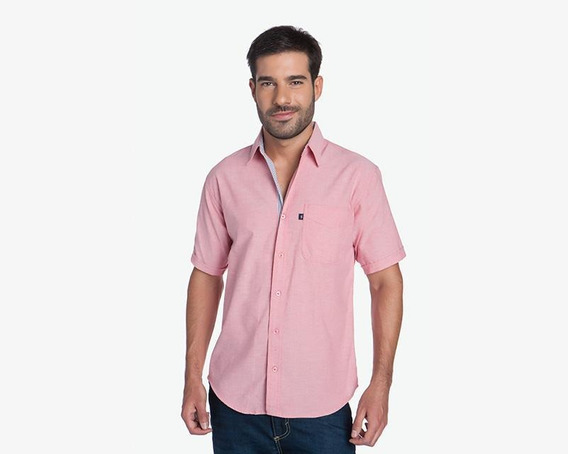 Camisa Lucky Star Rosa Pr-1118722